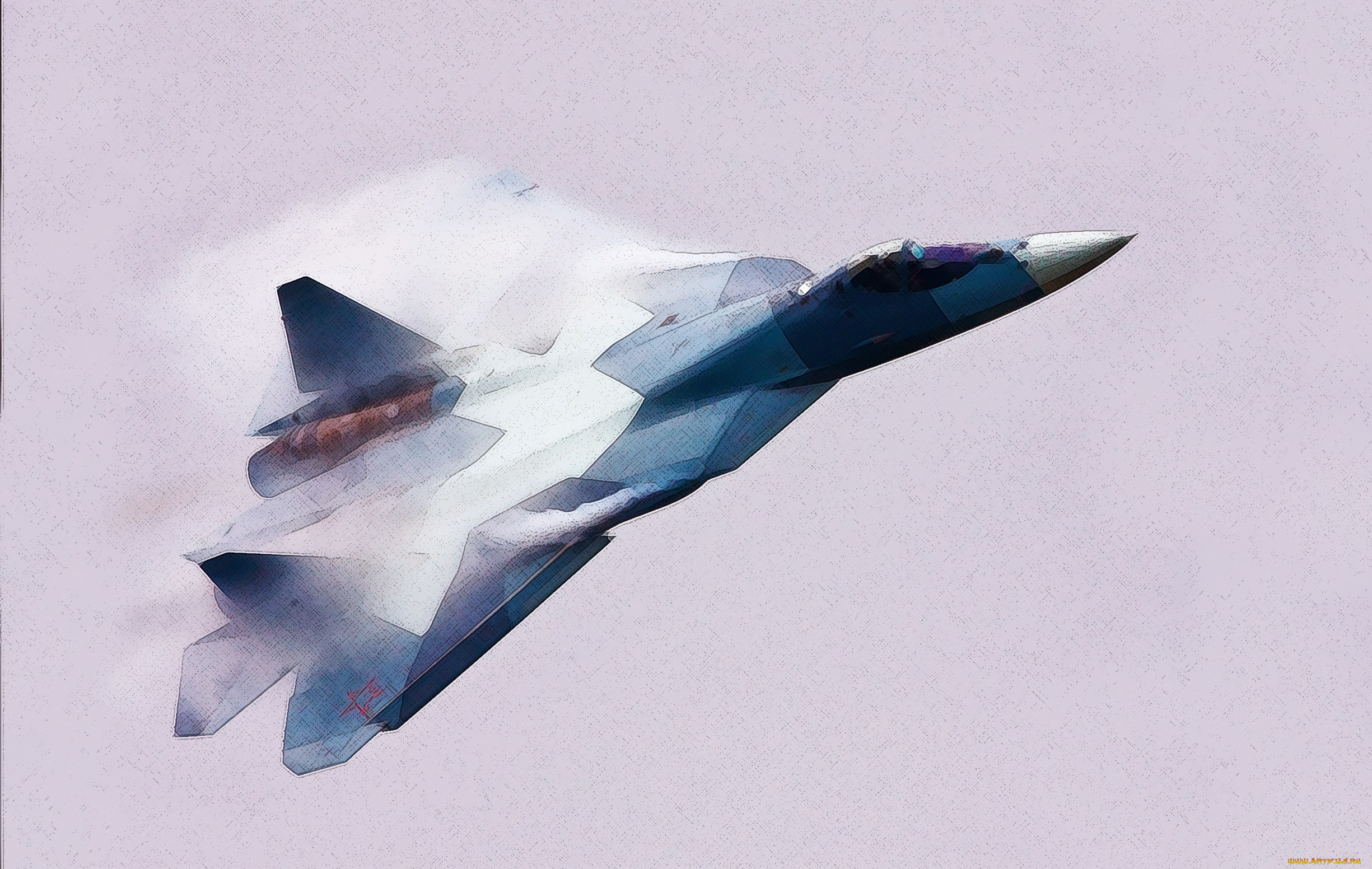 Обои Самолёт, рисованый. Авиация foto 13